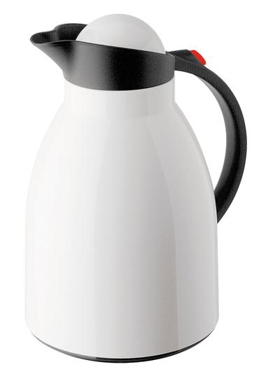 Vacuum jug Hawaii Push, white / black